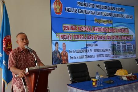 Prodi Pendidikan Bahasa Indonesia Adakan Seminar Nasional Inovasi Pembelajaran