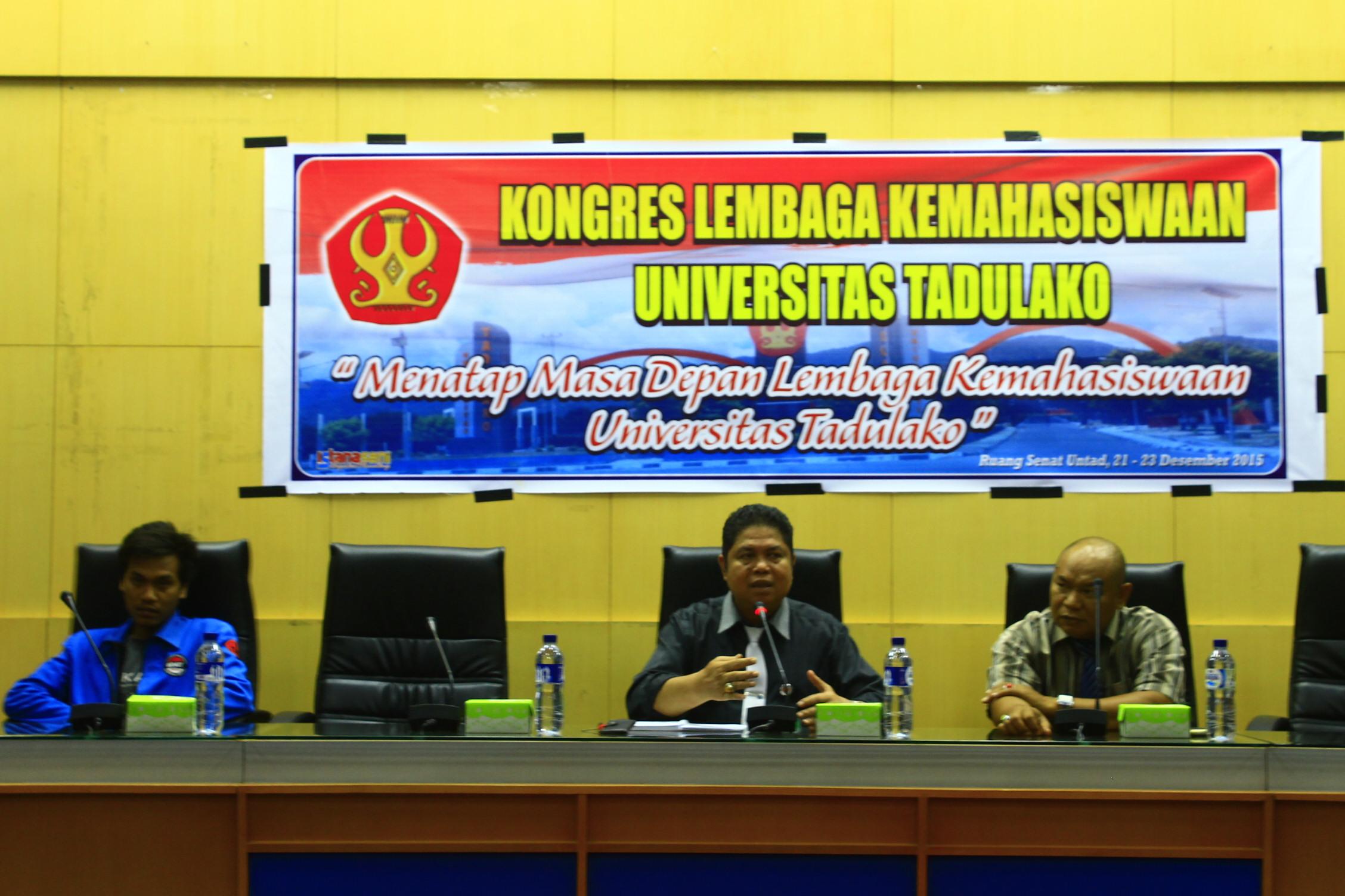 Kongres Lembaga Kemahasiswaan, Bangun Minat Berorganisasi