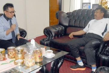 Rektor Untad Silaturrahim ke Kajati Sulteng