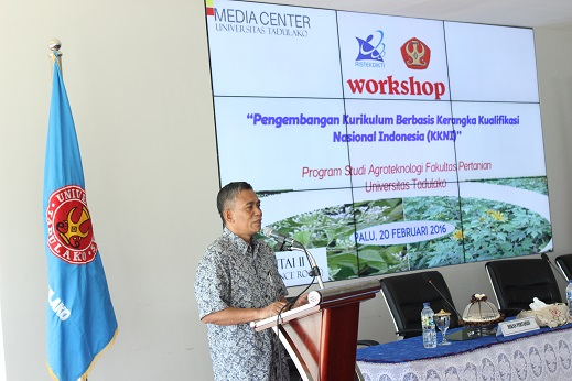 Workshop Pengembangan Kurikulum Berbasis KKNI Prodi Agroteknologi Fakultas Pertanian