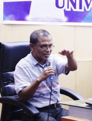 Ir. Burhanuddin : Trend, Kreatif dan Inovatif Kunci Mengusulkan Proposal PHBD