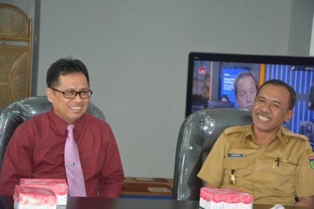 Walikota Palu Kunjungi Untad karena Rindu Almamater