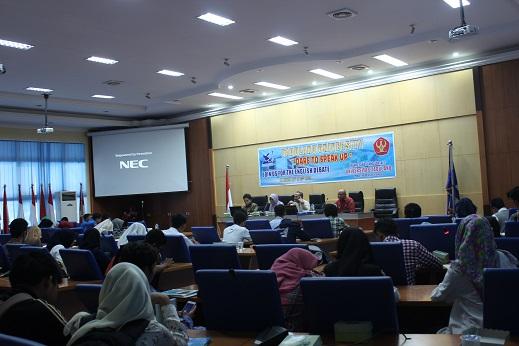 English Debate, Strategi Tingkatkan Skill Mahasiswa