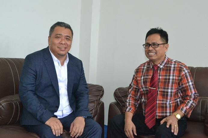 Rektor Terima Kunjungan Anggota DPR RI