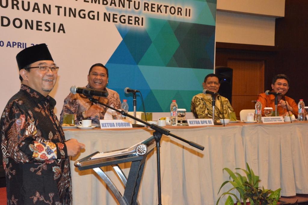 Untad Tuan Rumah Rakernas Forum Wakil/Pembantu Rektor II PTN se-Indonesia