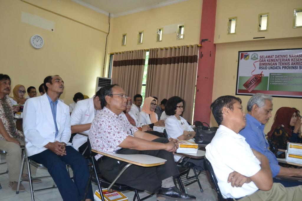 Dokter RSUD Undata Silaturrahim dengan Pimpinan Untad
