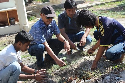 Peringati Hari Bumi, Mapala Galara Fekon Gelar Penanaman Pohon
