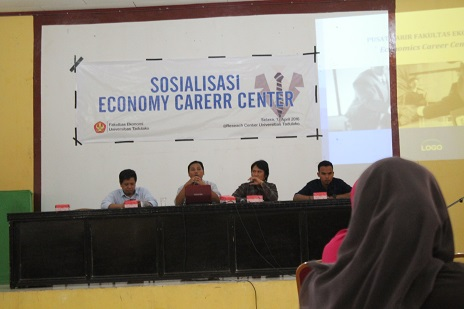 Fakultas Ekonomi Sosialisasikan Economy Career Center