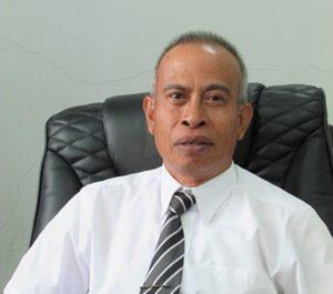 Wakil Rektor Bidang Akademik, Prof Dr Sutarman Yodo SH MH.