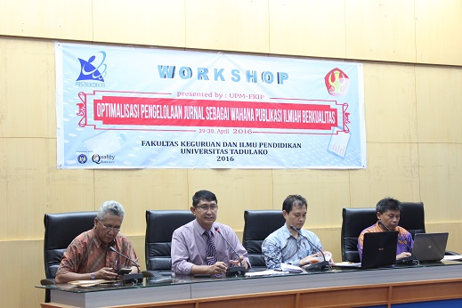 Optimalkan Pengelolaan Jurnal, UPM FKIP Laksanakan Workshop