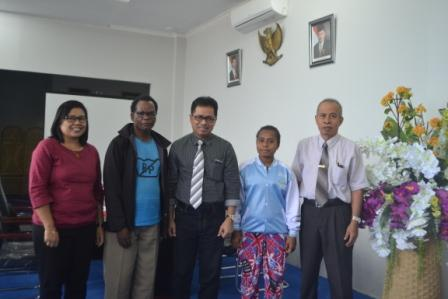 ADik dari Papua Resmi Diterima Untad