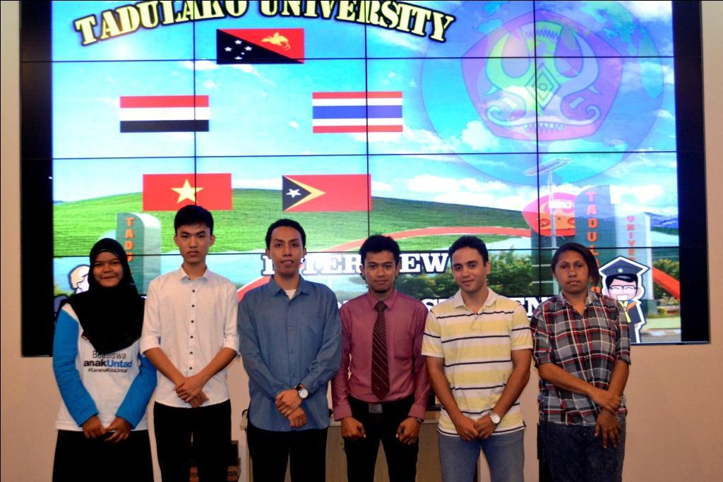 Setelah Setahun Menempuh Pendidikan di Untad, Inilah Kesan dan Pengalaman International Students dari 5 Negara!