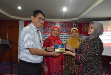 MPR RI Gandeng Untad Laksanakan Workshop Pancasila, Konstitusi, dan Ketatanegaraan