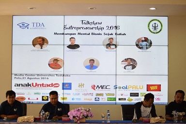 Talkshow Entrepreneurship, Dorong Mahasiswa Jadi Pencipta Lapangan Kerja