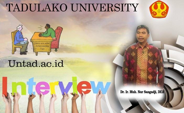 Mengenal Lebih Dekat Sosok Dr. Ir. Muh. Nur Sangadji, DEA! Mahasiswa Untad Pasti Familiar Dengan Sosoknya!