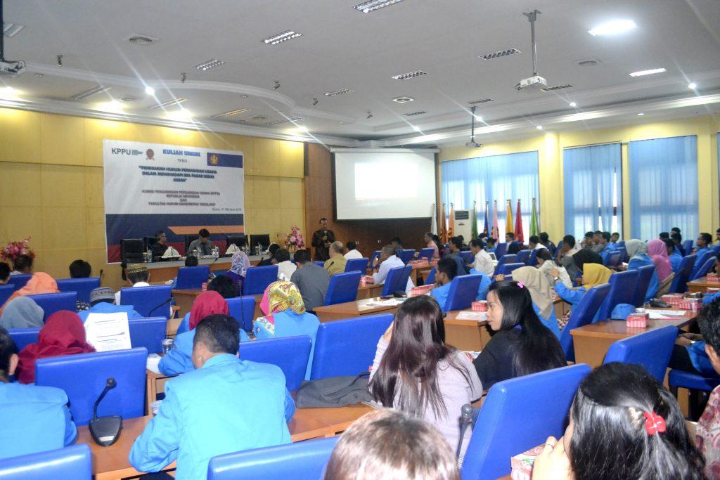 Fakultas Hukum Untad KPPU Kuliah Umum