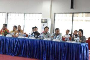 Rombongan Komisi X DPR RI saat kunjungan kerja di Universitas Tadulako (Foto Taqyuddin Bakri)
