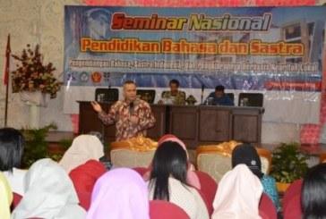 Peringati Bulan Bahasa 2016, Prodi Pendidikan Bahasa Indonesia Selenggarakan Seminar Nasional