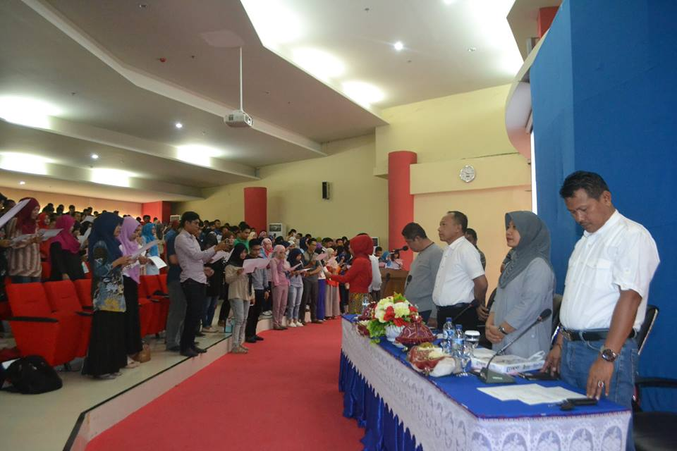 Berikan Arahan kepada 523 Tenaga Kontrak Untad, Kepala BUK: Pegawai Untad Wajib Berikan Pelayanan Terbaik