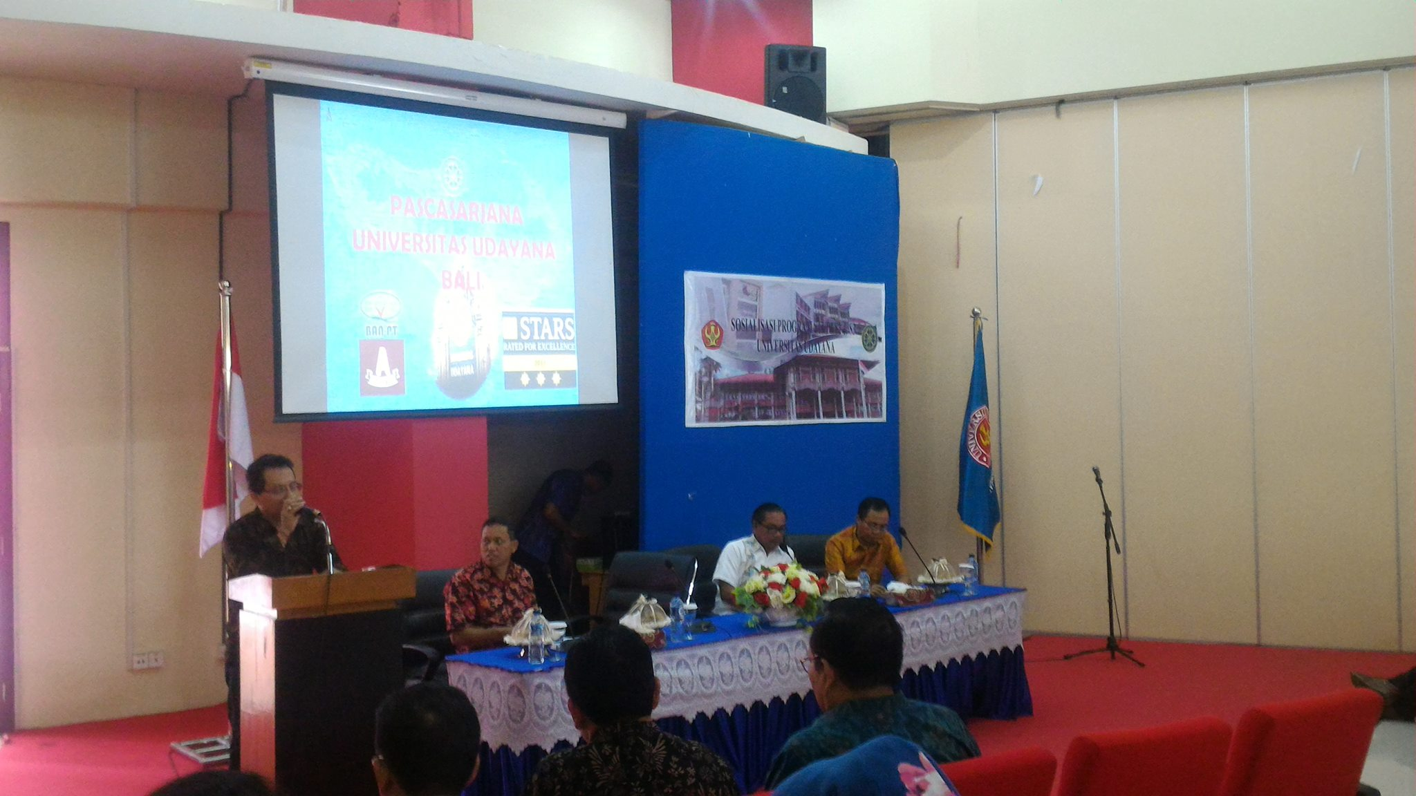 International Office Untad Gelar Sosialisasi Program Pasca Sarjana Universitas Udayana – Bali