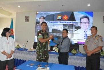 Kapolda Sulteng dan Rektor Untad Tandatangani Kerjasama Bidang Tri Dharma PT