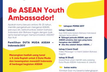 Pemilihan Duta Muda ASEAN-Indonesia 2017