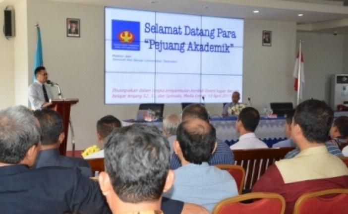 Pemilihan Rektor Tahun Depan, Rektor Untad Pesan Dosen yang Memenuhi Syarat Segera Persiapkan Diri