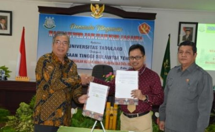 Kajati Sulteng dan Rektor Untad Perkuat Kerjasama Bidang Perdata dan TUN