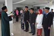 Rektor Lantik Wakil Dekan Hukum Dan Tiga Pejabat Struktural Untad