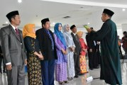 Rektor Untad Lantik Dekan FK dan FKM, Ketua Pusat Serta Struktural Eselon III.a dan IV.a