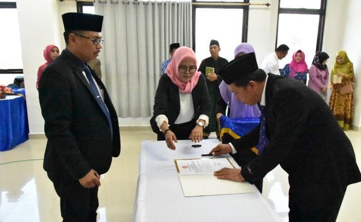 Rektor Lantik Dekan dan Wakil Dekan Fakultas Kedokteran Untad Periode 2017-2021