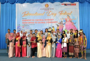 Kenalkan Keberagaman Budaya Kepada Mahasiswa, International Office Untad Gelar International Day Festival