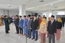Rektor Untad Lantik Dekan Fakultas Kehutanan Serta Tujuh Belas Jabatan Struktural