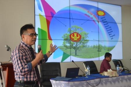 Gelar Silaturrahim dengan Tiga Pilar, Rektor Apresiasi Kinerja dan Pesankan Pentingnya Persatuan