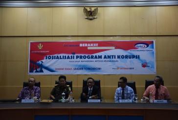 BPKP Sulteng Sosialisasi Program Antikorupsi, Hadirkan Kajati Sulteng dan Pejabat BPKP Pusat