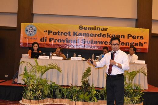 Seminar Potret Kemerdekaan Pers, Prof Basir Ingatkan Potensi Ancaman terhadap Pers