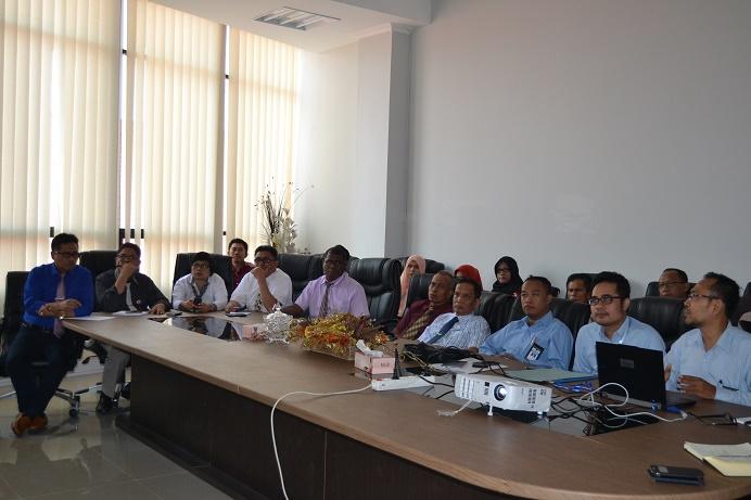 Rapat Konsultasi Untad dengan PPK-BLU