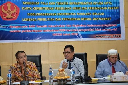 LPPM Adakan Workshop Pola KKN Tematik Infrastruktur