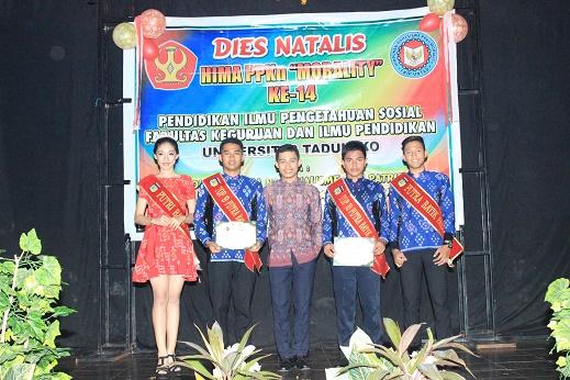 Perayaan Dies Natalis Hima Morality Dihadiri Duta Batik Kota Palu