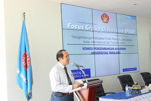 Focus Group Discussion Komisi Pengembangan Akademik
