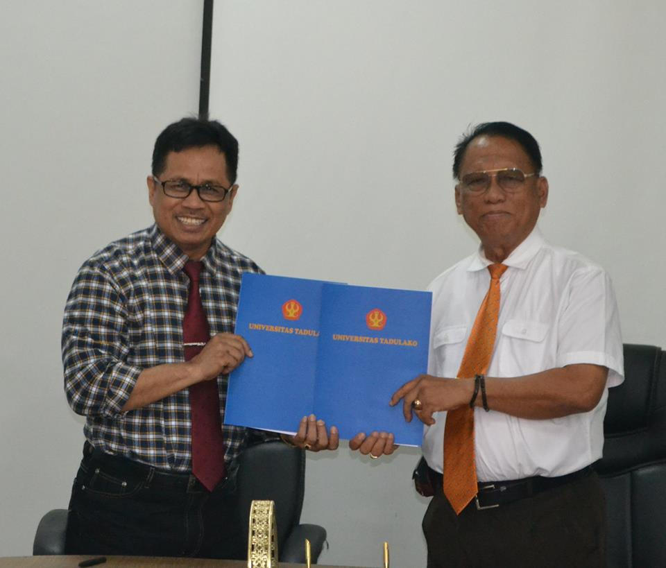 Universitas Tadulako dengan Universitas Madako Tolitoli Lakukan Kerjasama