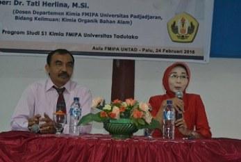 Kuliah Umum FMIPA: Upaya Peningkatan Mutu Fakultas