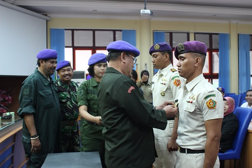 Komandan Baru Batalyon 251 Wiratama Pawana Cakti Dilantik
