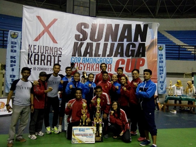 Tim Untad Boyong  Empat Medali di Kejuaraan Karate Nasional Sunan Kalijaga CUP X