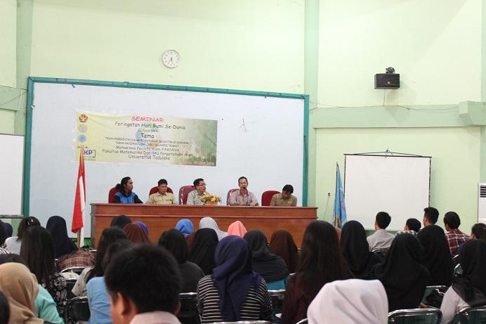 MPA Pawana FMIPA Laksanakan Seminar Peringati Hari Bumi