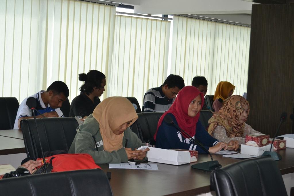 Tokoh Mahasiswa Dihadirkan dalam Sosialisasi UPT Komdis