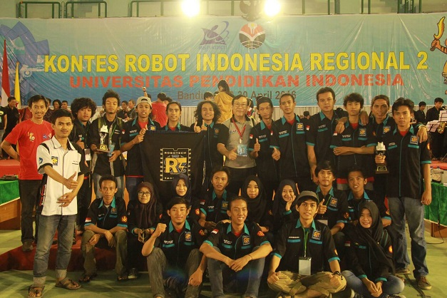 Raih Inovasi Terbaik, Tim Robot Untad Lolos Ke Nasional