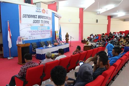 BKKBN Sulteng Laksanakan Seminar Pengenalan Reproduksi Remaja