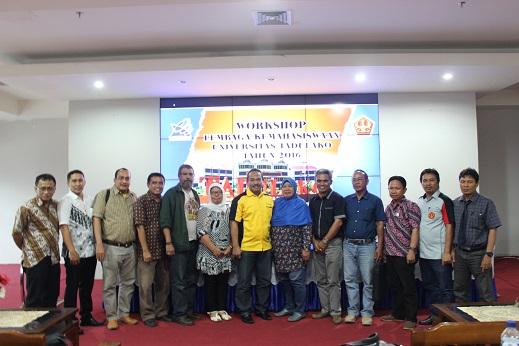 Kembangkan Lembaga Kemahasiswaan, Untad Laksanakan Workshop