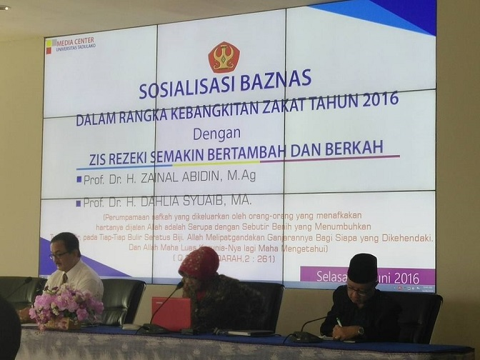 Baznas Sosialisasikan Program Kebangkitan Zakat di Tahun 2016